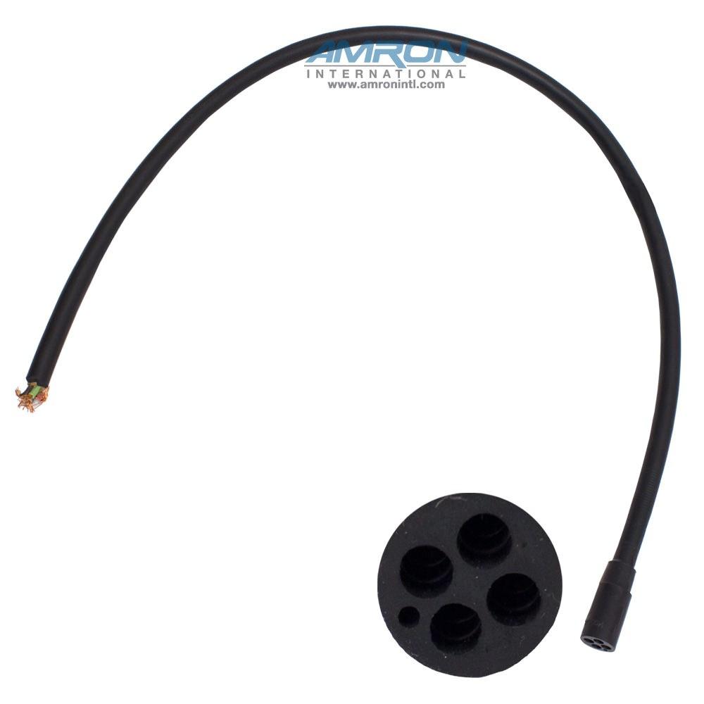 SEA CON Micro Wet-Con In-Line Connector - 4 Socket Female MCIL4F