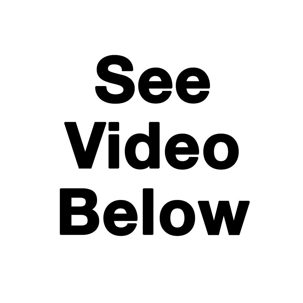 See Video Below in Video Tab