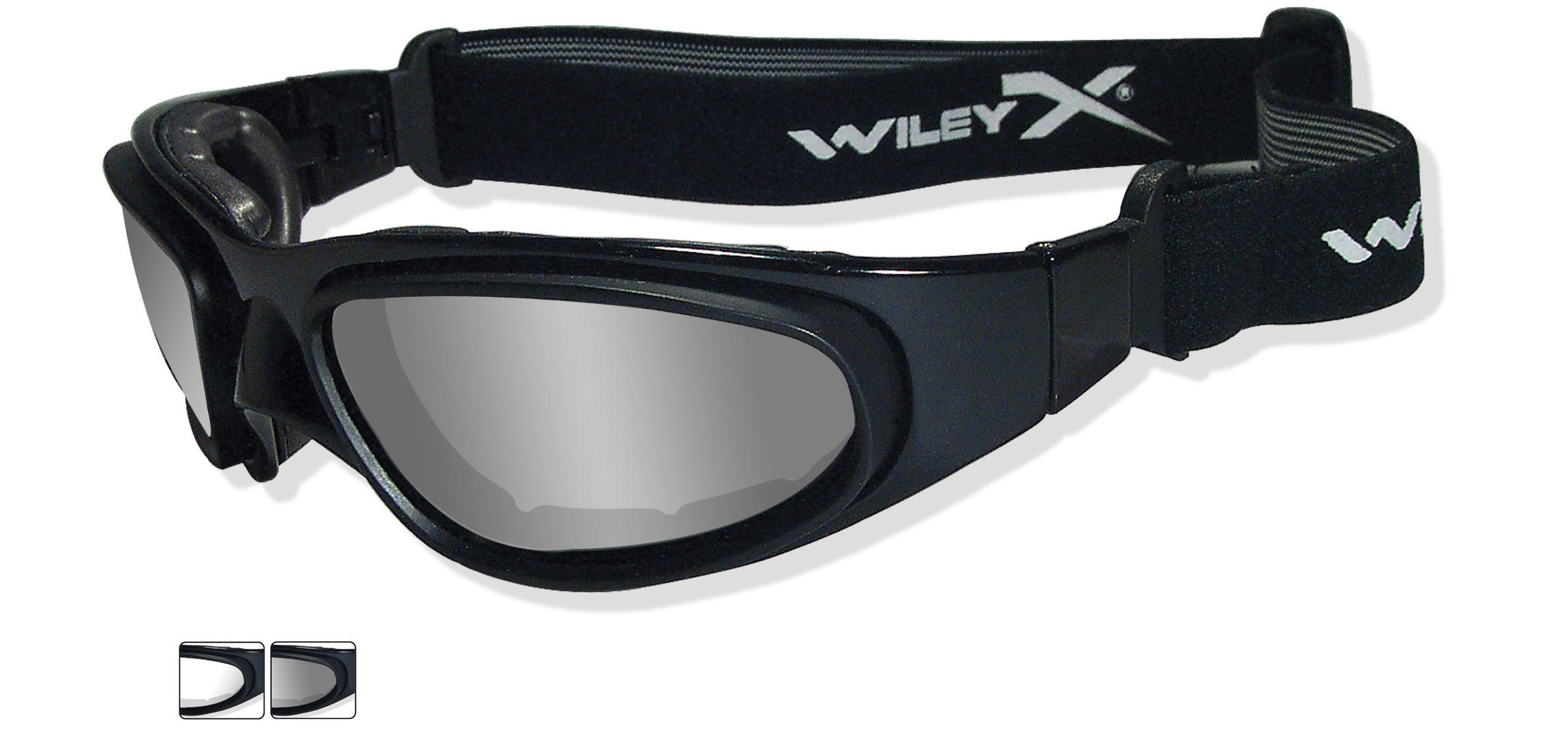 f26beb014a1 Wiley X SG-1 Sunglasses Goggles Regular Black Frame WIL-71