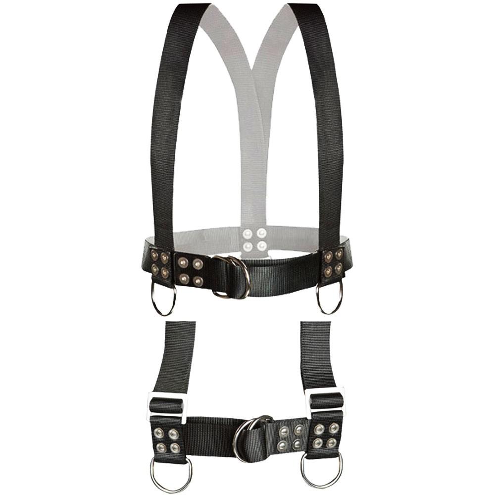Atlantic Diving Equipment Diving Safety Harness w/ Shoulder Adjusters - X-Large SH-100-SA-XL