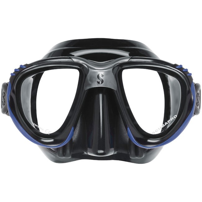 SCUBAPRO Scout Mask - Black/Blue 24.826.400