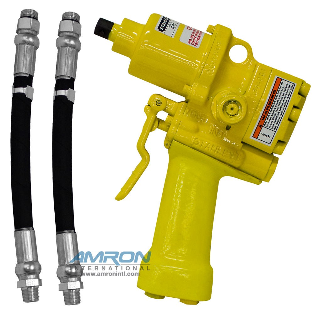 Stanley Tools ID07920 Hydraulic Underwater Impact Drill/Wrench - 1/2 Inch  Square Drive (Includes Hose Whips - Excludes Couplers)
