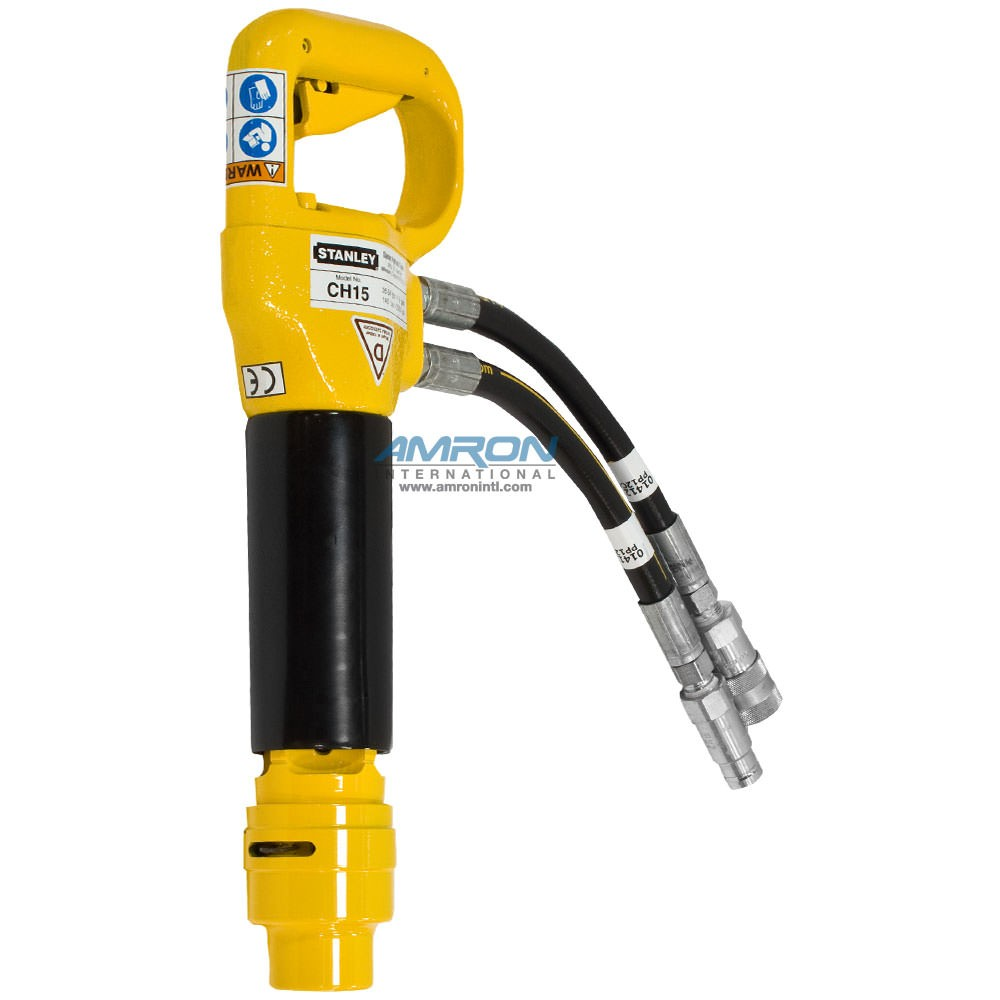 Stanley Hydraulic Underwater Chipping Hammer CH15 for Light and Medium Breaking CH1533101