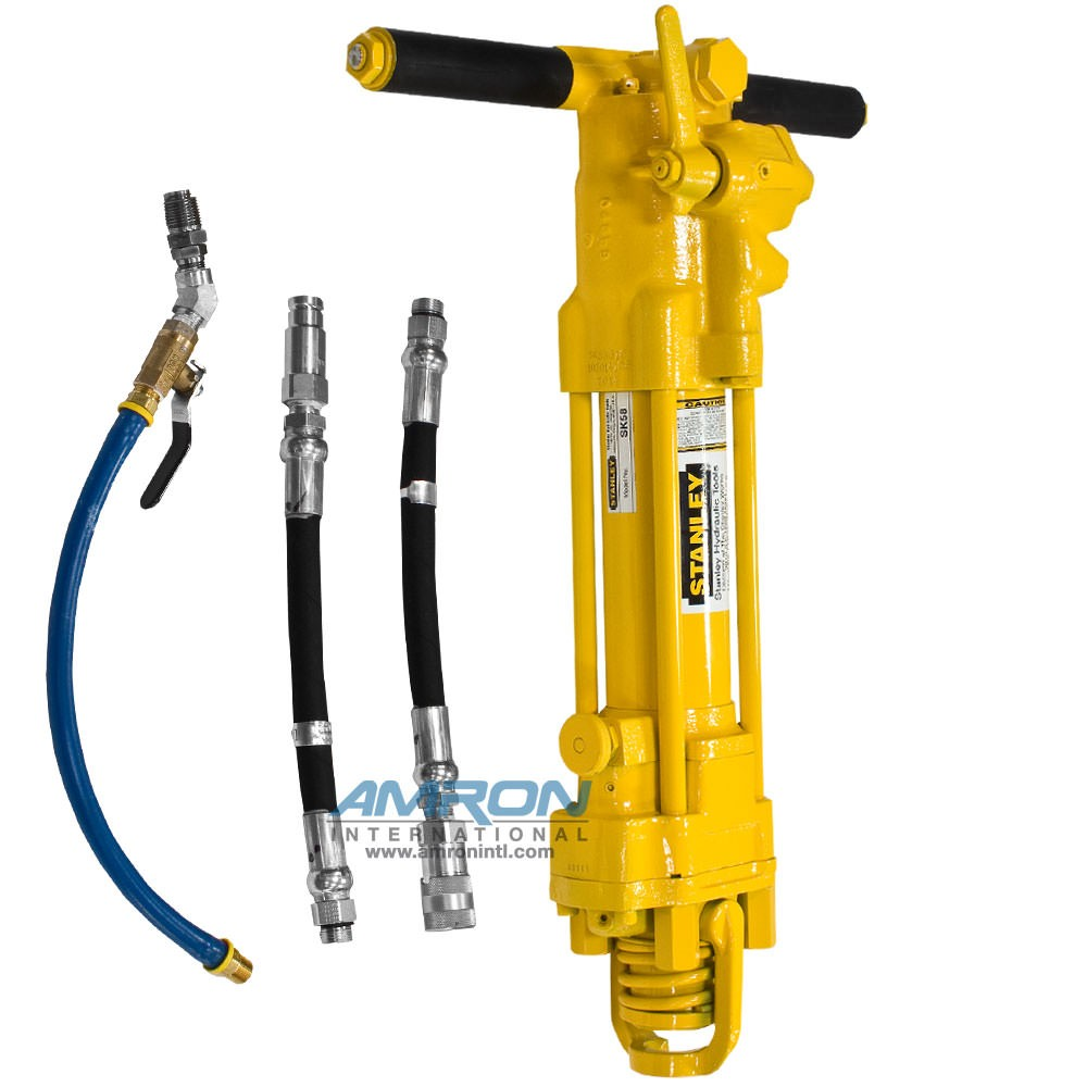 Stanley Hydraulic Underwater Sinker Drill SK58 - SK58310 (Couplers Shown Not Included)
