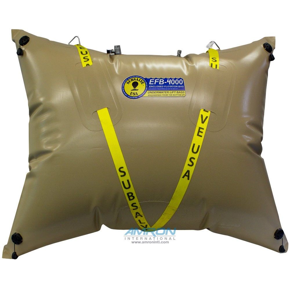 Subsalve Enclosed Flotation Commercial Lift Bag - Lift Capacity 4400 lbs EFB-4000