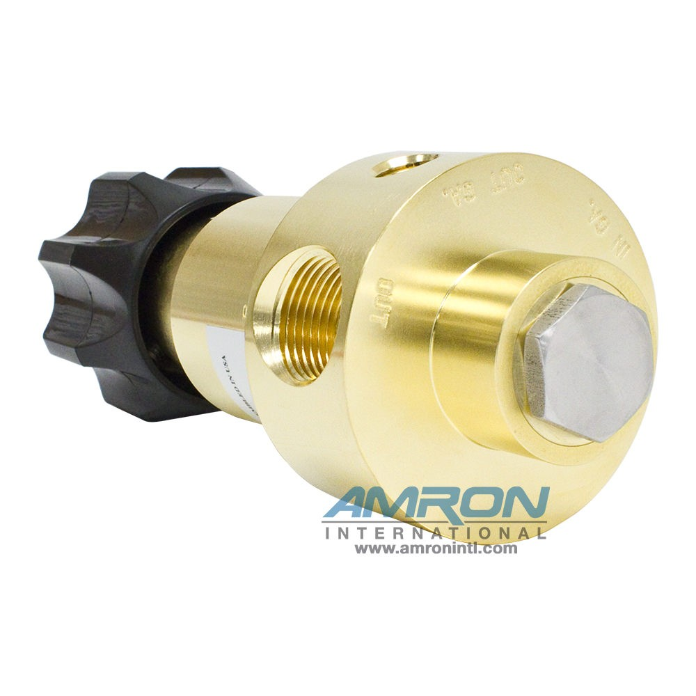 Tescom Pressure Reducing Regulator 0-1000 PSIG – Brass 44-1315-2122-005