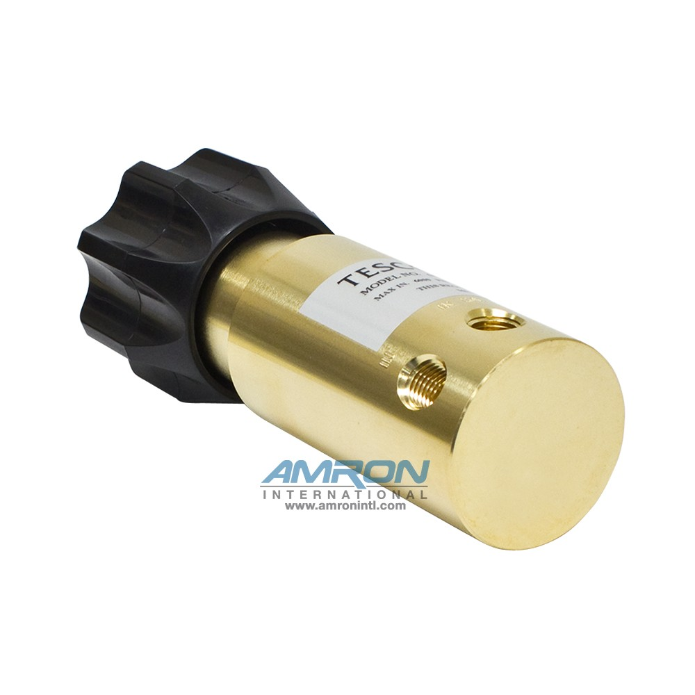 Tescom Pressure Reducing Regulator 0-800 PSIG – Brass 44-1112-24