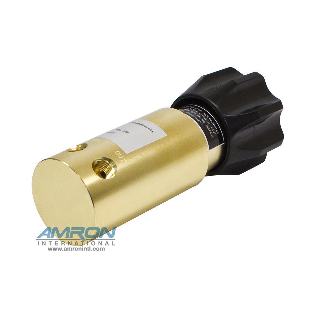 Tescom Pressure Reducing Regulator 15-2,500 PSIG - Brass 44-1114-24