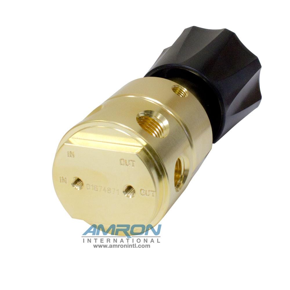 Tescom Pressure Reducing Regulator 0-250 PSIG – Brass 44-2213-241