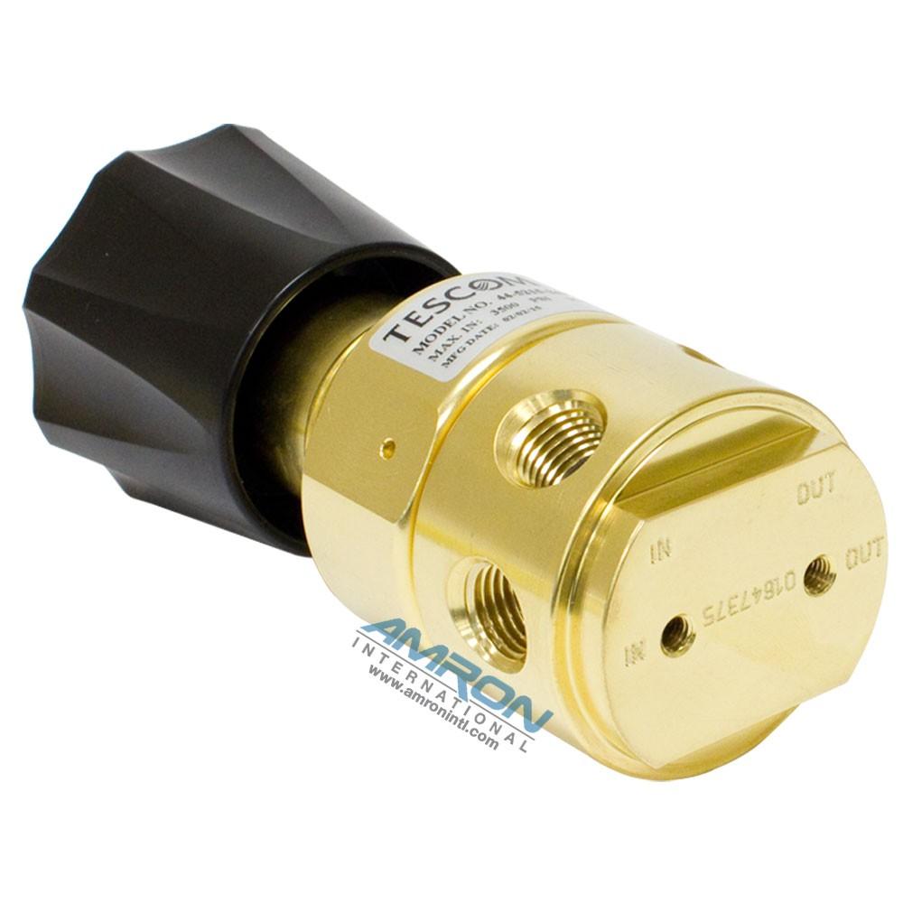 Tescom Pressure Reducing Regulator Venting 5-500 PSIG – Brass 44-5215-243V