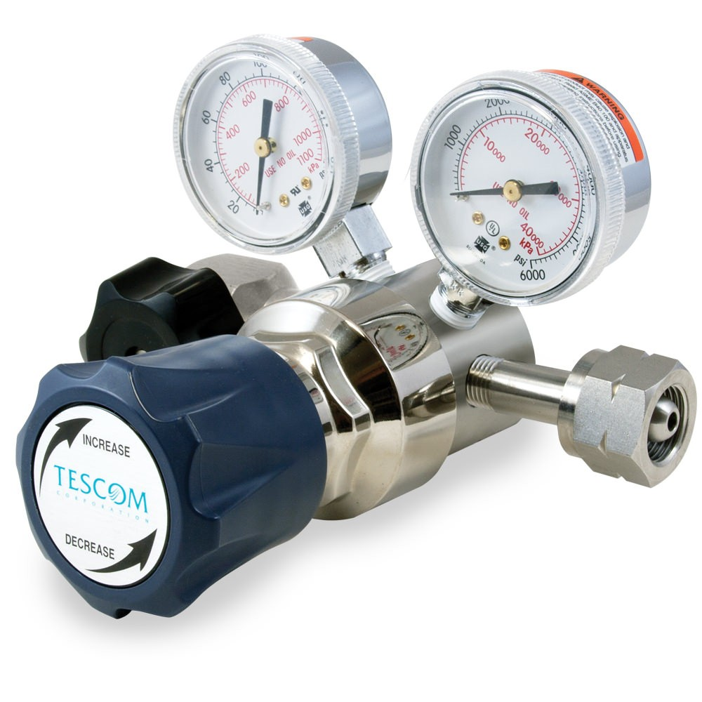 Tescom Single Stage Cylinder Pressure Reducing Regulator