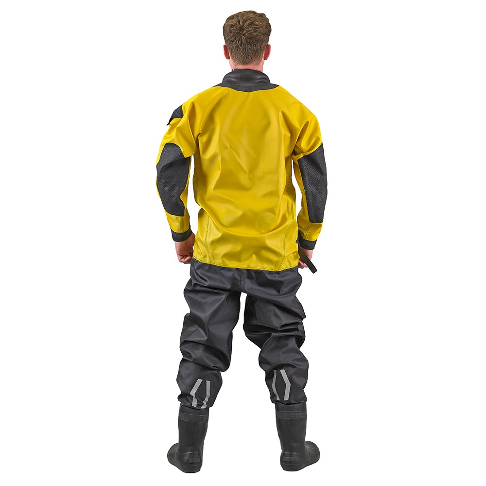 Viking WRS Water Rescue Suit with Quick Neck Set Neck Ring System and Latex Socks
