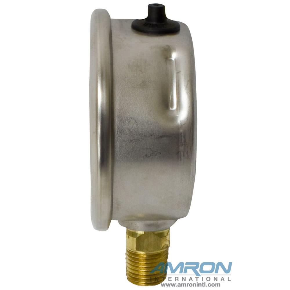 Wika Model 212.53 Bourdon Tube Dry Case Pressure Gauge 2.5 in 0-300 PSI 1/4 in