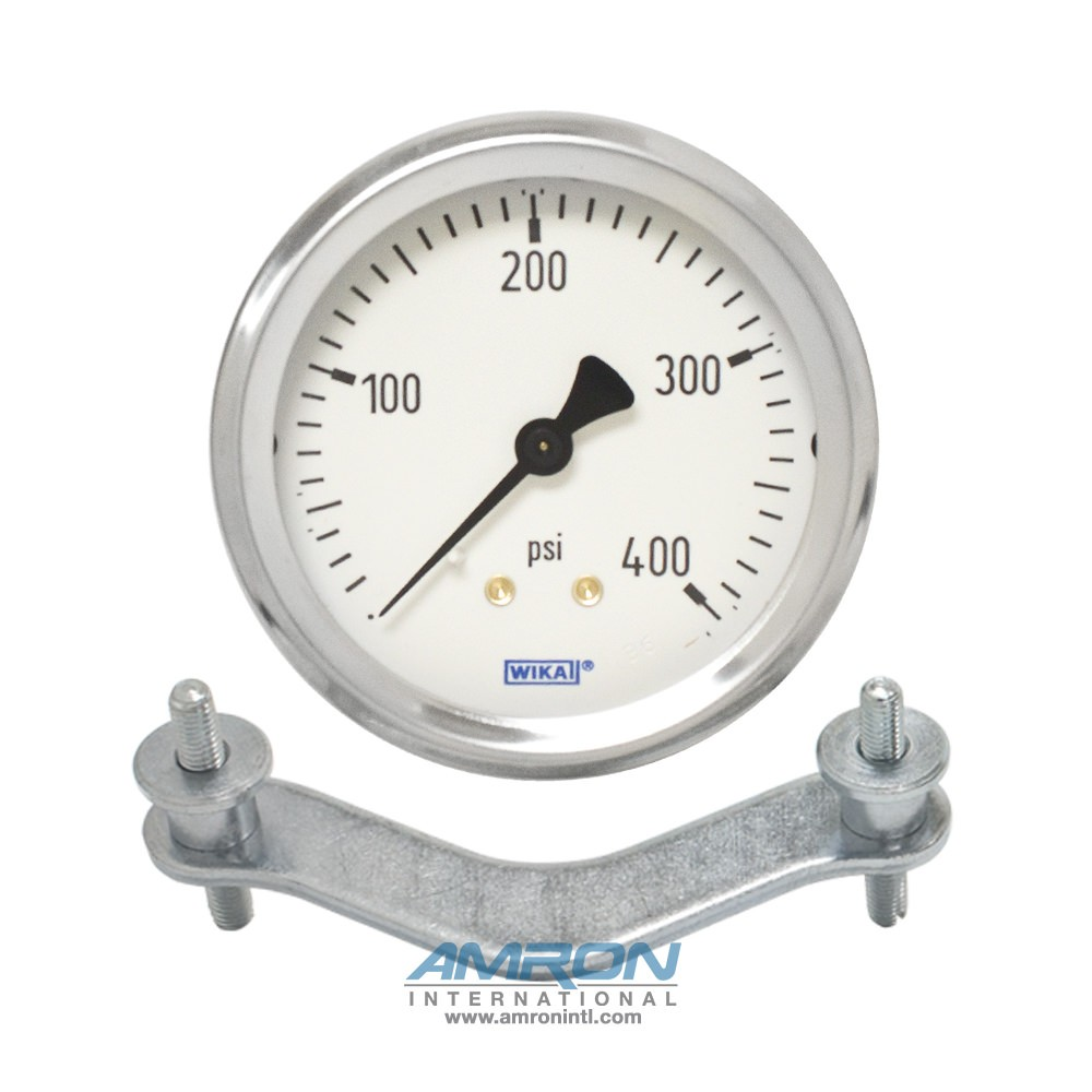 Wika Model 212.53 Bourdon Tube Dry Case Pressure Gauge 2.5 inch 0-5000 PSI 711725205000