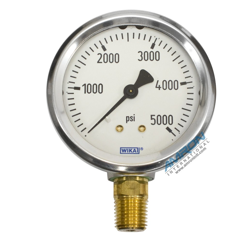 Wika model bourdon tube dry case pressure gauge