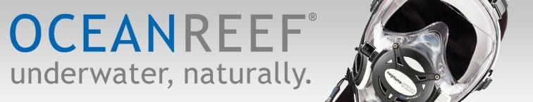 OCEAN REEF brand banner