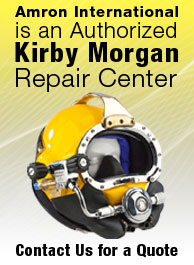 Authorized Kirby Morgan Repairs