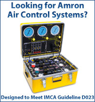 Amron International Air Control Systems - Designed to Meet IMCA Guideline D023