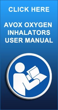AVOX Oxygen Inhalators User Manual