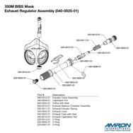 Amron International 350M BIBS Mask Exhaust Regulator Breakout