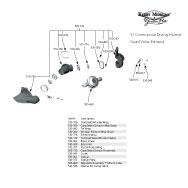 Kirby Morgan 37 Commercial Diving Helmet Quad Valve Exahust Parts Breakout